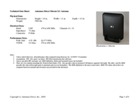 Antennas Direct ClearStream Micron 0999992684926 User Manual
