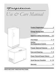 Frigidaire FGCH25M8LW User Manual
