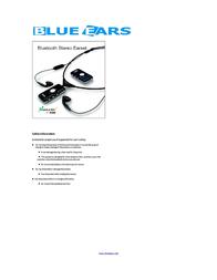 BlueEars Bluetooth Stereo Earset (black) BE-MBS-100 User Manual