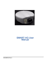 Novatel GNSS Receiver and Antenna SMART-AG User Manual