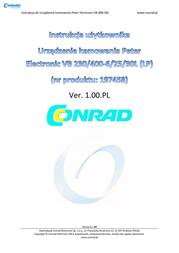 Peter Electronic 2B000.40030 VB 400-30L Brake Device VersiBrake 2B000.40030 Data Sheet