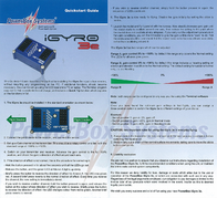 Powerbox Systems POWERBOX IGYRO 3E 3600 Leaflet