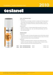 Teslanol T7 400ml 26028 Leaflet