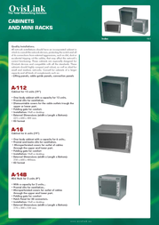 OvisLink A112 Leaflet