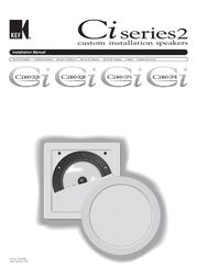 KEF CI160.2FR Installation Instruction