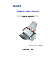 Avision AV220C2+ Manuale