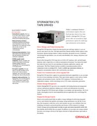 Storage Tek MEDLTO0200 Data Sheet