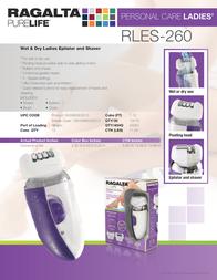 Ragalta RLES-260 Leaflet