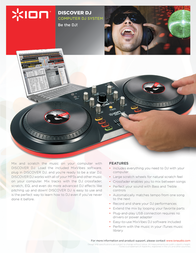 ION Audio DISCOVER DJ DISCOVERDJ Leaflet