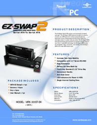 Vantec EZ Swap 2 Serial ATA MRK-300ST-BK Leaflet