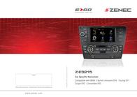 Zenec Z-E3215 User Manual