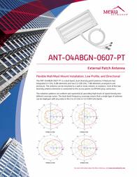 Meru ANT-O4ABGN-0607-PT Leaflet