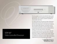 Vidikron VDP-80TM Leaflet