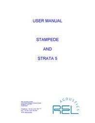 Rel Acoustics Stampede User Manual