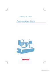Janome 300E User Manual