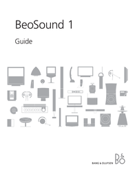 Bang & Olufsen BeoSound 1 User Manual