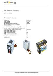 Whitenergy 05750 Leaflet