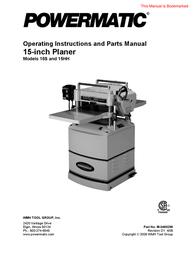 Wilton 15HH User Manual
