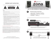 Aperion Audio zona User Guide