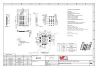 Wuerth Elektronik Würth Elektronik Content: 1 pc(s) 693010010601 Data Sheet