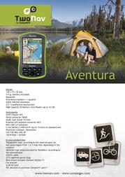 CompeGPS TEAM TwoNav Aventura 002-6000550 プリント