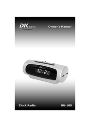 DK digital ru-100 User Guide