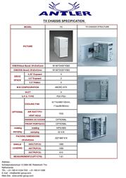 Antler TM/TX - 302 TM/TX302 Leaflet