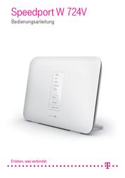 Telekom WLAN modem router 2.4 GHz, 5 GHz 1300 Mbit/s 40268633 User Manual