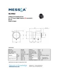Messoa SLV562 Leaflet