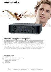Marantz PM7004/ZIL Leaflet
