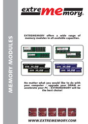 Extrememory EXME02G-DD2N-667D50-F1 User Manual