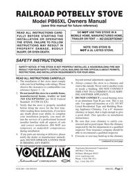 Vogelzang International PB65XL ユーザーズマニュアル