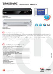 TELE System TS6206DT 21005131 Leaflet