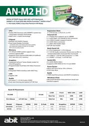 abit AN-M2HD Leaflet