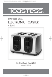 Toastess Stainless Steel Electronic Slice TT718 User Manual