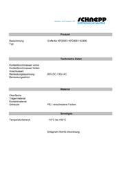 Schnepp N/A Yellow Content: 1 pc GKP 2400 GELB Data Sheet