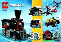 Lego Creator 31015 LOKOMOTIVE 31015 User Manual