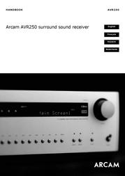 Arcam AVR250 User Manual