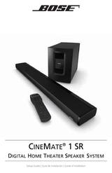Bose CineMate 1 SR 048852 User Manual