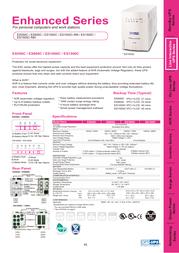 OPTI-UPS ES800C Leaflet
