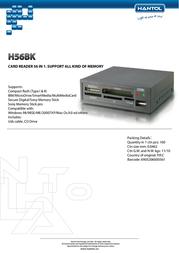 Hantol H56BK Leaflet