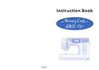 Janome 4900 QC User Manual