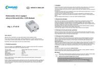 Slv LED driverLED driver 3 W, 350 mA 464108 464108 Leaflet