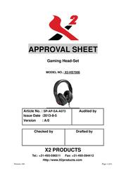X2 Aurel X2-HS7006 User Manual