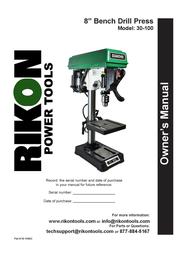 KUHN RIKON Kuhn Rikon Corp. Drill 30-100 User Manual