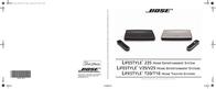 Bose Lifestyle 235 User Manual