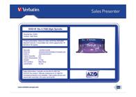 Verbatim VB-DPR47S2A 43500 Leaflet