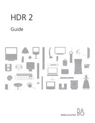 Bang & Olufsen HDR 2 User Manual
