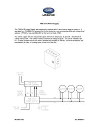 Lathem PS8-2412 Leaflet