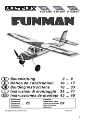 MULTIPLEX RR FunMan 264266 Data Sheet